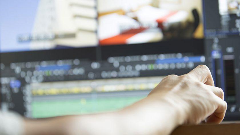 インハウス(社内)動画制作のサポートをしています